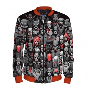 - People 101 Man Bomber Front Red 700 20