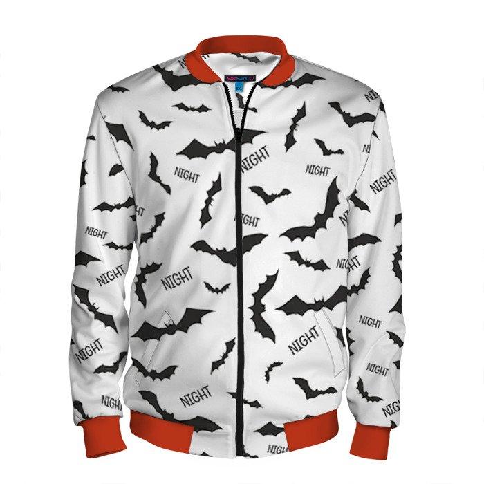 Buy Men's Bomber Jacket Night Bats batman Baseball Apparel Merchandise collectibles