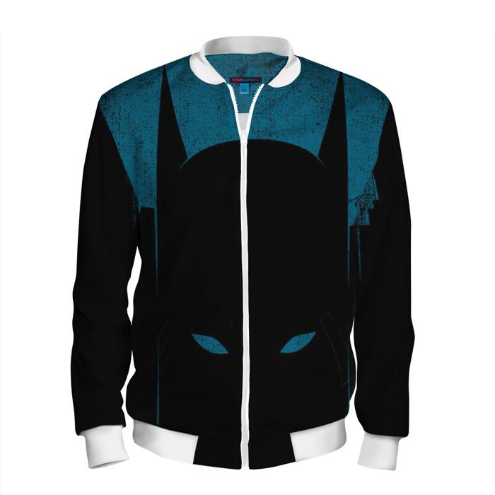 Buy Men's Bomber Jacket Batman DC Universe Dark Fan Art merch Merchandise collectibles