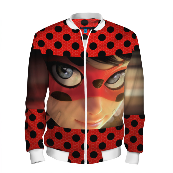Buy Men's Bomber Jacket Tales of Ladybug & Cat Noir Merchandise Merchandise collectibles