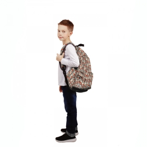 - People 10 Backpack Full Front White 700 44