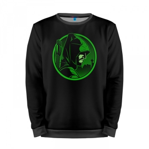 Buy Full Print Sweatshirt Green Arrow Merchandise Art Logo Merchandise collectibles
