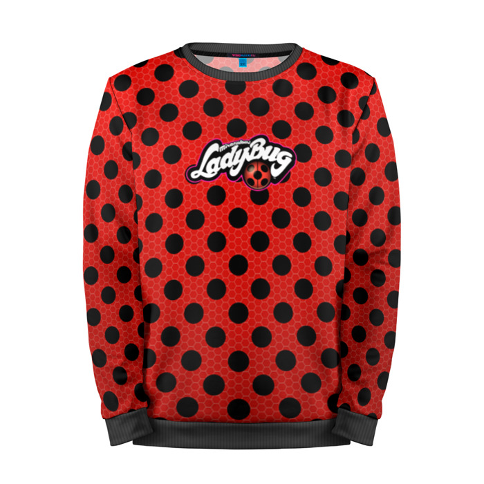 Buy Full Print Sweatshirt Ladybug & Cat Noir Inspired merchandise Merchandise collectibles