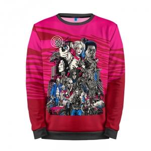 Collectibles Sweatshirt Suicide Squad Art Pink
