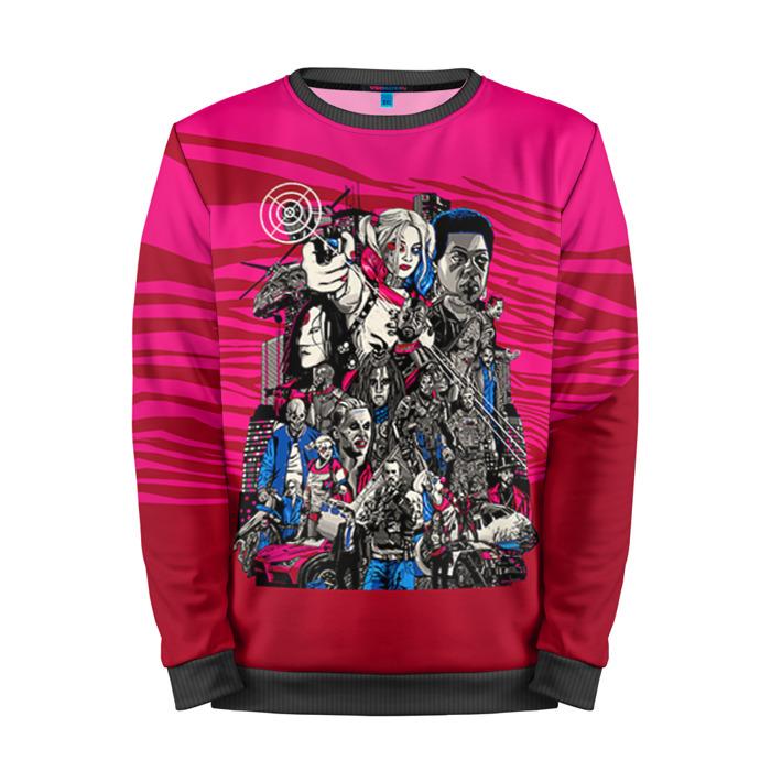 Buy Full Print Sweatshirt Suicide Squad Merch Inspired Art Merchandise collectibles