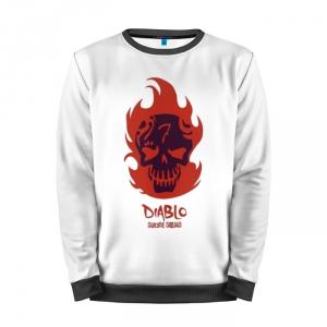Buy Full Print Sweatshirt Diablo Suicide Squad Diablo Art Apparel Merchandise collectibles
