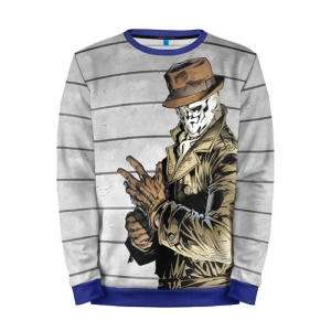 Buy Full Print Sweatshirt Rorschach Watchmen DCU Noir Merchandise collectibles