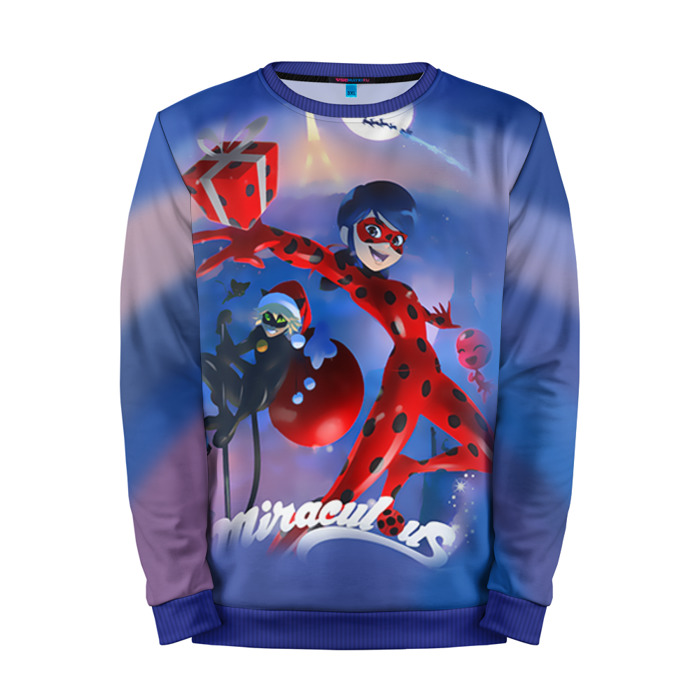 Buy Full Print Sweatshirt Christmas Miraculous Ladybug Merchandise collectibles