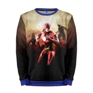 Buy Full Print Sweatshirt The Flash TV Series Art DCU Apparel Merchandise collectibles