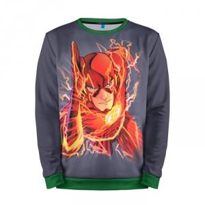 Buy Full Print Sweatshirt Flash Comics Animated Version Merchandise collectibles
