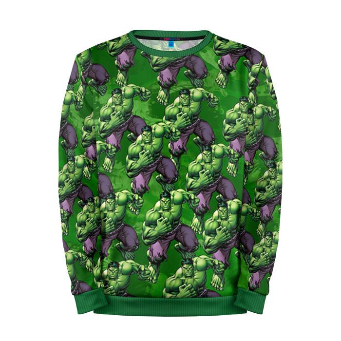 Buy Full Print Sweatshirt Hulk Bruce Banner Pattern Avengers Merchandise collectibles
