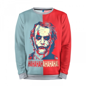 Buy Full Print Sweatshirt Joker Laugh Dark Knight Batman DCU Merchandise collectibles