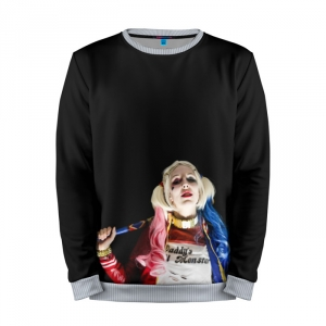 Merch Sweatshirt Cosplay Harley Quinn Character
