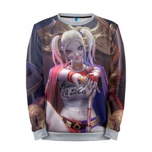Merch Sweatshirt Smile Art Harley Quinn Fan