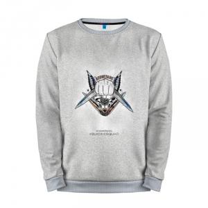 Buy Full Print Sweatshirt Boomerang Grey Logo Suicide Squad Movie Merchandise collectibles