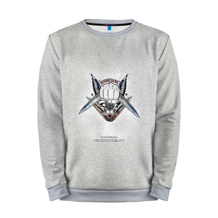 Collectibles Sweatshirt Boomerang Grey Logo Suicide Squad Movie