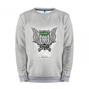 Collectibles Sweatshirt Rick Flag Grey Logo Suicide Squad Movie