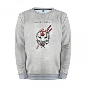 Collectibles Sweatshirt Katana Grey Logo Suicide Squad Movie