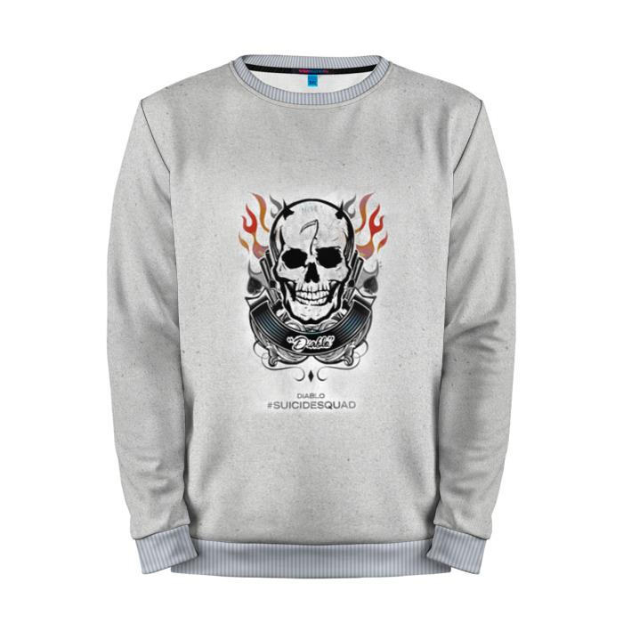 Collectibles Sweatshirt El Diablo Grey Logo Suicide Squad Movie