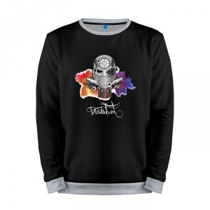 Collectibles Sweatshirt Deadshot Art Logo Suicide Squad