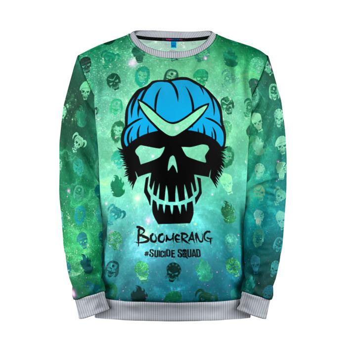 Buy Full Print Sweatshirt Suicide Squad Boomerang Merchandise Merchandise collectibles