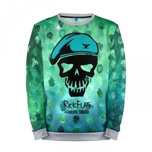 Collectibles Sweatshirt Suicide Squad Rick Flag