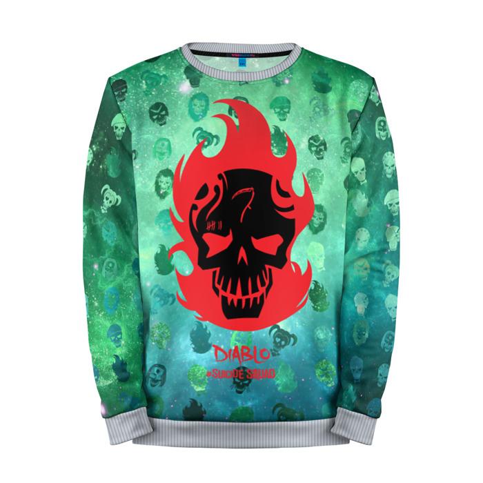 Buy Full Print Sweatshirt Suicide Squad Diablo Apparel Merchandise collectibles