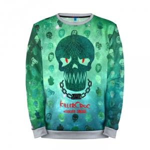 Collectibles Sweatshirt Suicide Squad Killercroc