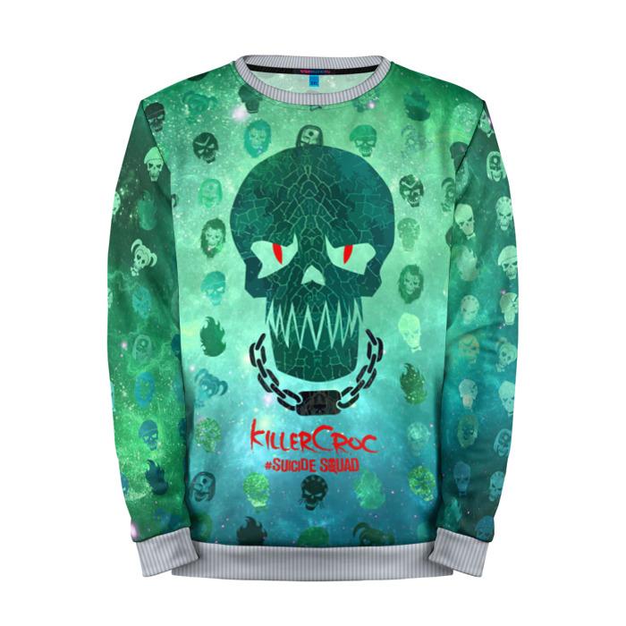 Buy Full Print Sweatshirt Suicide Squad KillerCroc Inspired Merchandise collectibles