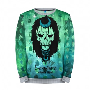 Buy Full Print Sweatshirt Suicide Squad Enchantress DCU Merchandise collectibles