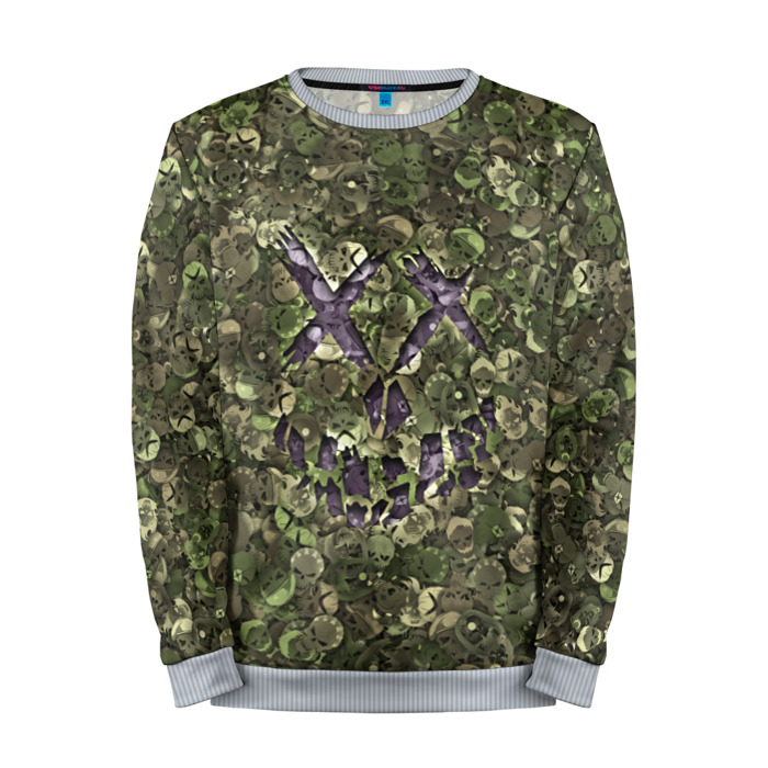 Buy Full Print Sweatshirt Suicide squad Camouflage Military Merchandise collectibles