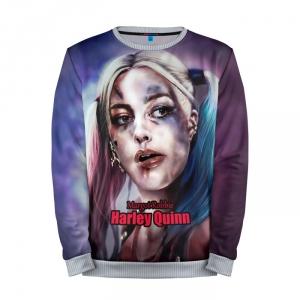 Merch Sweatshirt Margot Robbie Harley Quinn Suicide Squad