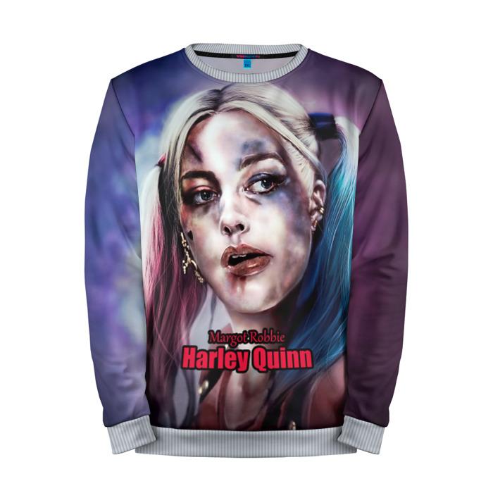 Buy Full Print Sweatshirt Margot Robbie Harley Quinn Suicide Squad Merchandise collectibles