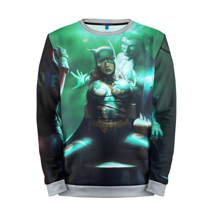 Buy Full Print Sweatshirt Joker torturing Batgirl Batman Universe Merchandise collectibles
