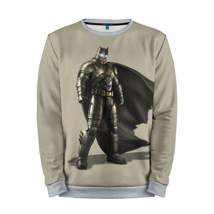Buy Full Print Sweatshirt Batman Power Armor Superman Dawn of Justice Merchandise collectibles