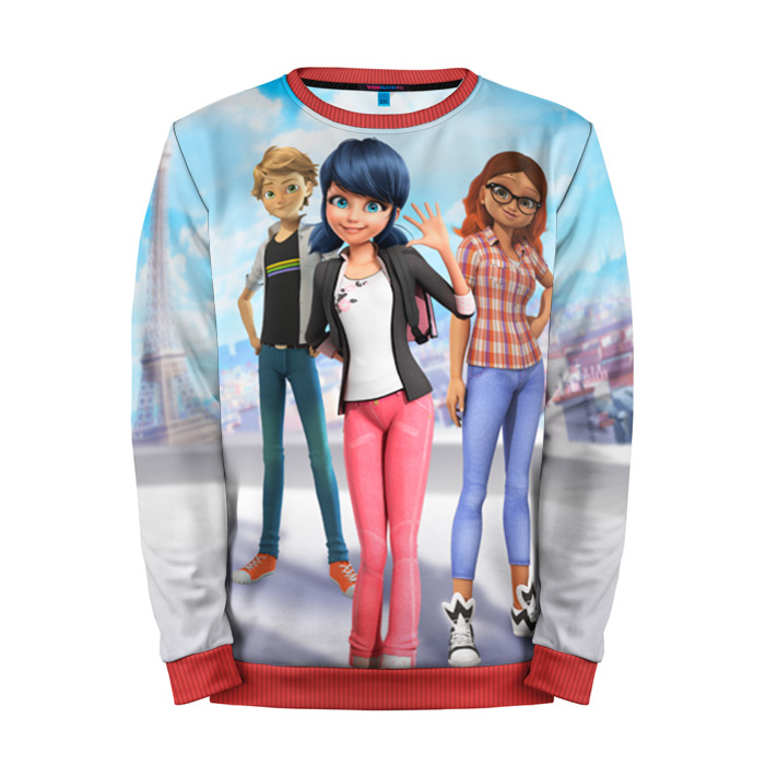 Buy Full Print Sweatshirt Ladybug & Cat Noir Inspired merch Merchandise collectibles