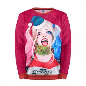 Merch Sweatshirt New Year Christmas Harley Quinn