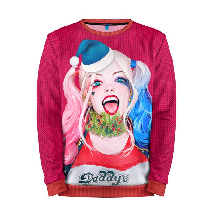 Buy Full Print Sweatshirt New Year Christmas Harley Quinn Merchandise collectibles