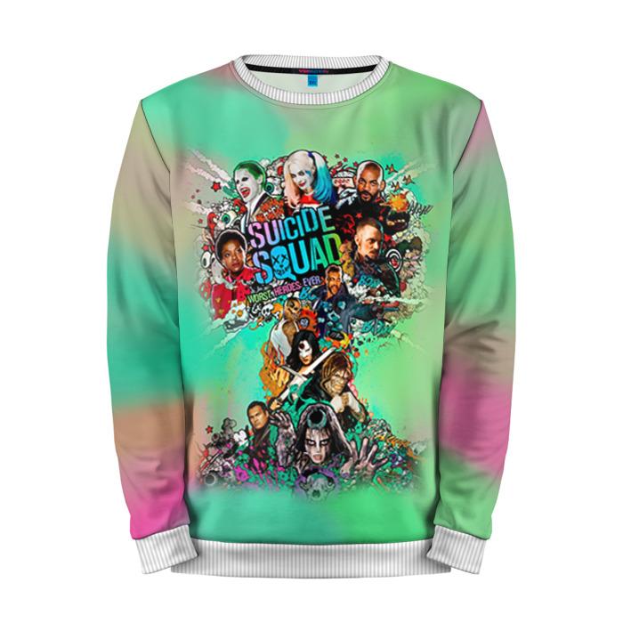 Merch Sweatshirt Suicide Squad Promo Poster Art