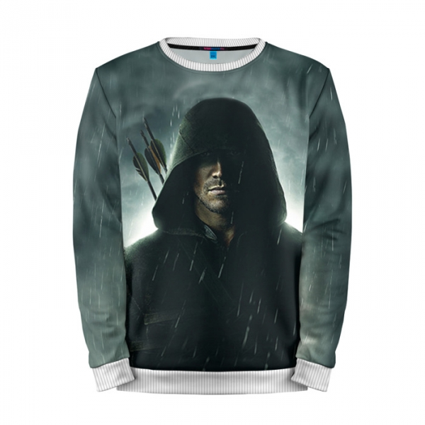 Full Print Sweatshirt Green Arrow Merchandise Dcu Art Buy Online