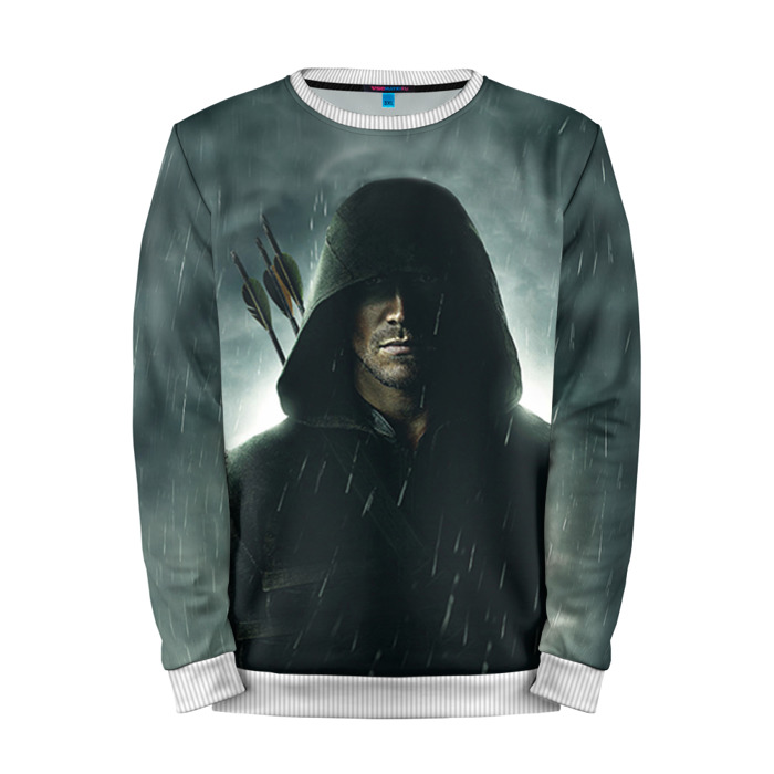 Buy Full Print Sweatshirt Green Arrow Merchandise DCU Art Merchandise collectibles