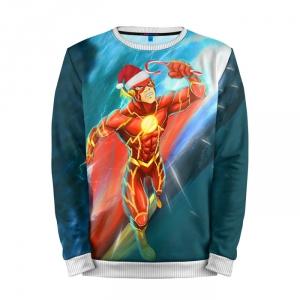 Buy Full Print Sweatshirt Flash New Year Merry Christmas Merch Merchandise collectibles