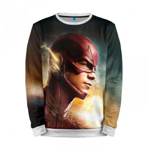 Buy Full Print Sweatshirt Flash DCU Merchandise TV Version Barry Allen Merchandise collectibles