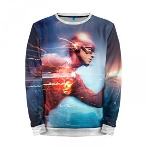 Buy Full Print Sweatshirt The Flash Motion TV Show CW Art Merchandise collectibles