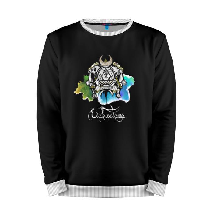 Buy Full Print Sweatshirt Enchantress Art Logo Suicide Squad Merchandise collectibles