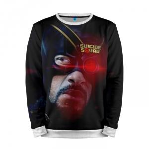 Buy Full Print Sweatshirt Suicide Squad Deadshot Classic Costume Merchandise collectibles