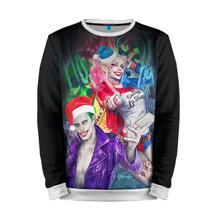 Buy Full Print Sweatshirt Harley Quinn Joker Christmas Party Inspired Merchandise collectibles