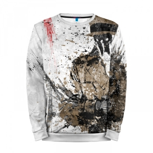 Buy Full Print Sweatshirt Rorschach Fan Art Merchandise Watchmen Merchandise collectibles
