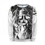 Merchandise Sweatshirt Rorschach Black And White D Watchmen