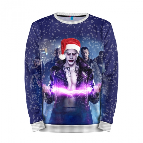 344a9f580acc Shop online Full Print Sweatshirt X mas Joker Christmas Special Suicide  Squad best merchandise and collectibles